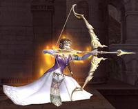 Zelda ready fire arrow