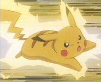 Pikachu shocking