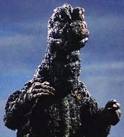 Godzilla come at me