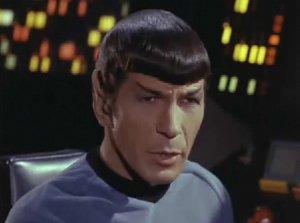 Spock speaks