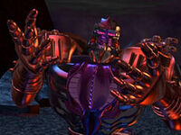230px-FeralScream1 Megatron greets clone