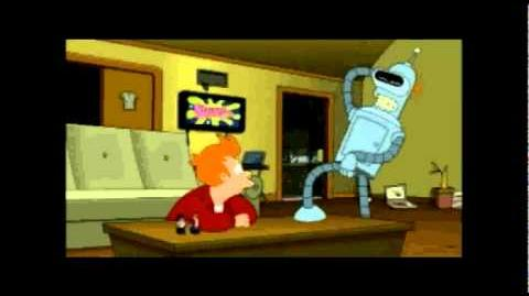 Going at it tonight Bender - Futurama