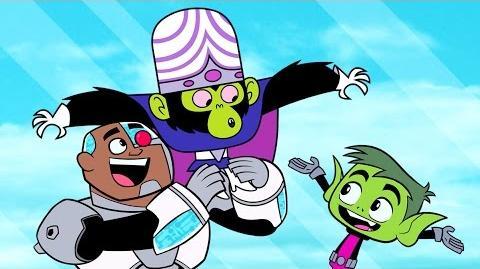 """Teen Titans Go! - """"TTG v PPG"""" (clip)"""