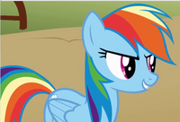 Rainbow Dash determined cropped S1E13