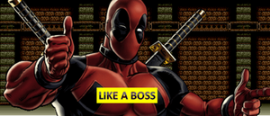 Deadpool like a boss by bladepuppetmaster-d630t9t