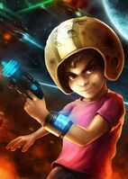 Pistols Commander Keen Billy Blaze Boys Helmet 521399 1365x1024