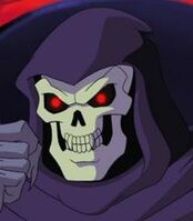 Skeletor pissed off