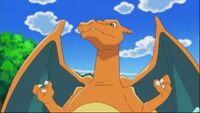 Charizard tough pose