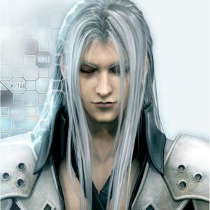 Cool wallpapers of Final Fantasy VII Sephiroth 1024x1024 (01)