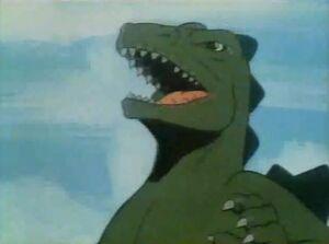Godzilla victory
