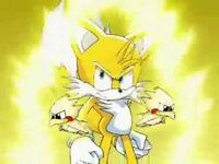 Tails super tough