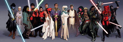 Legacy characters