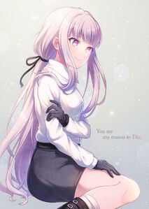 Kirigiri kyouko danganronpa and danganronpa 3 drawn by suzumi shiro sample-147f9c08549f09bda913ad8a84ecf79d