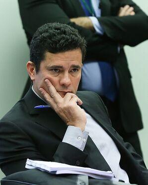 Sérgio Moro em comissão de combate à corrupção