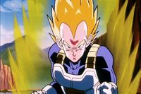 Vegeta tough smirk
