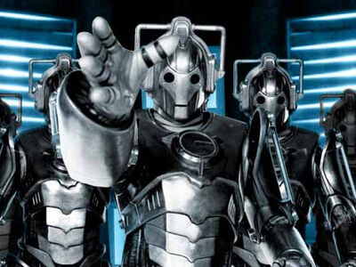 Cybermen on bbc