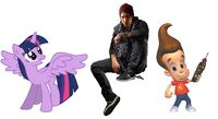 Jimmy Neutron, Twilight Sparkle & Delsin Rowe