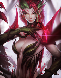 League of legends zyra by ae rie-d83qccq