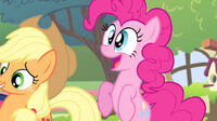 Pinkie excited