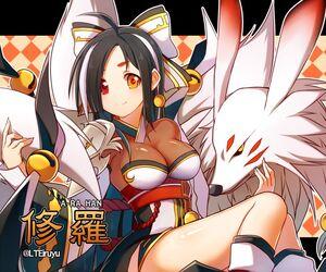 Ara han and asura elsword drawn by iruyu 1456c902ca252a38ce49bf736b57c2e2