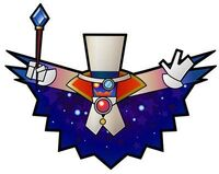 Count bleck sparkly
