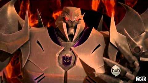 Transformers Prime - Megatron laughs (Complete)