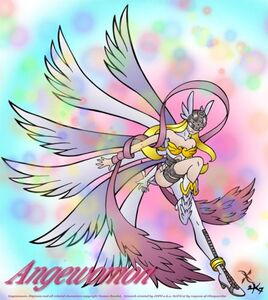 Angewomon heel of justice