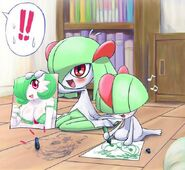 Ralts and Kirlia