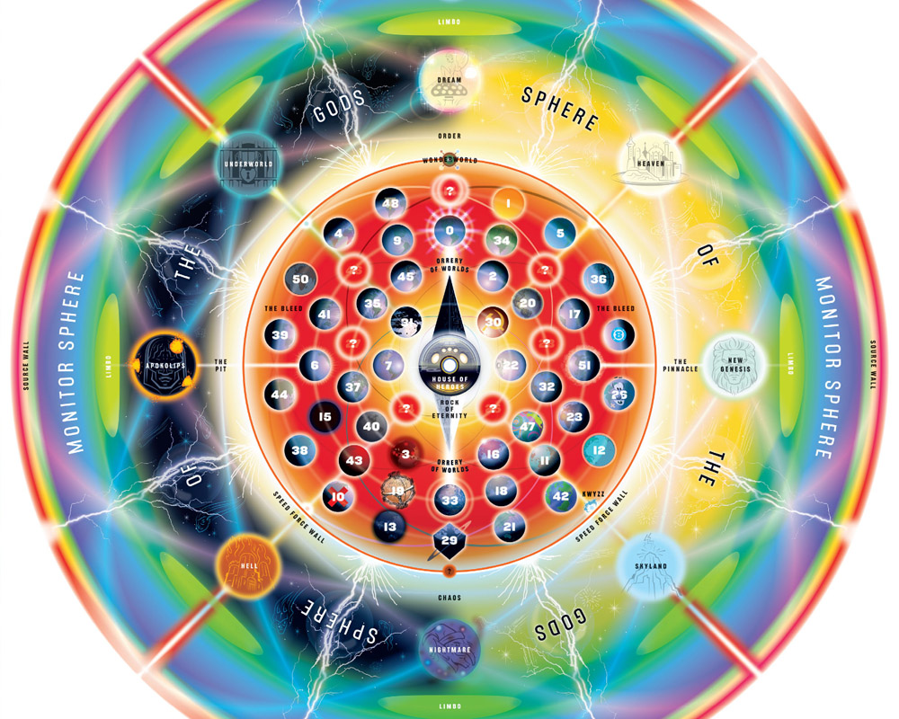 Image - Dc-comics-multiverse-map.jpg | Legends of the Multi Universe ...