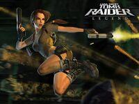 Lara jump and shoot