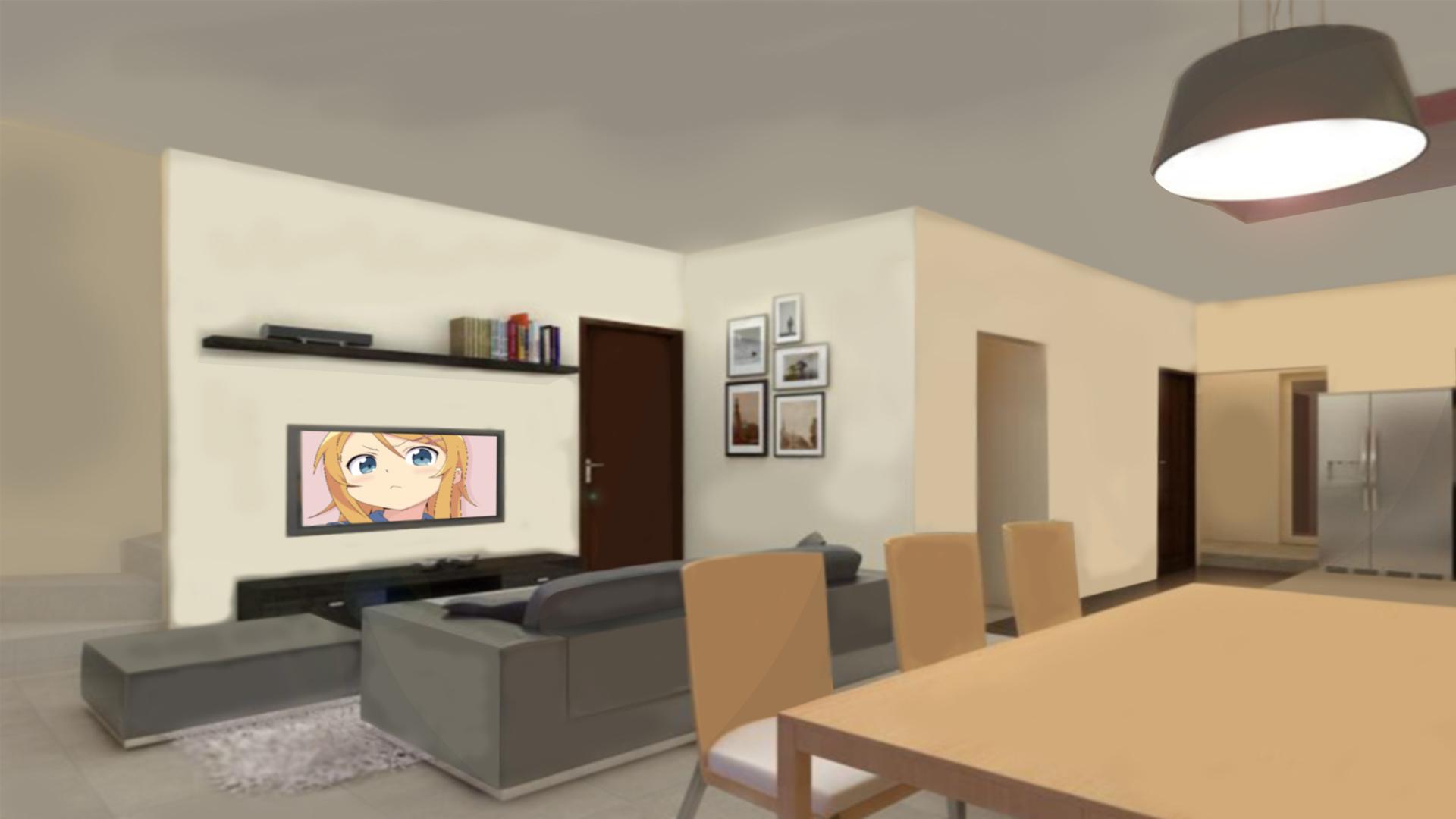 Living Room Background Anime
