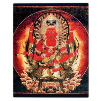 14th century buddhist aizen myoo painting plaque-r743d06040e6042bcb410fa1144eac2e0 ar56b 8byvr 540