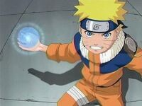 Naruto with orb