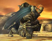 Ganondorf crouch