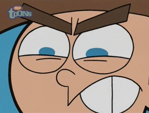 Timmy angry