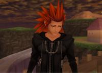 Axel sad smile