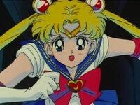 Sailor moon running