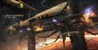 1200x620 3250 Extrasolar War 2d sci fi spaceships battle picture image digital art