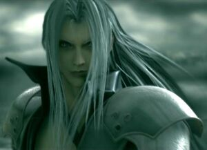 Sephiroth close up