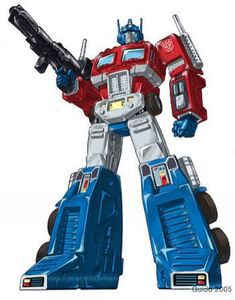 Optimus Prime comicbook render