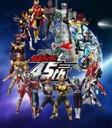 All Heisei Kamen Rider Final Forms