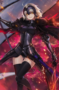 Jeanne d arc and jeanne d arc fate grand order and fate series drawn by mhg hellma e454ca99965f848f7e307cc5aad3f1ae