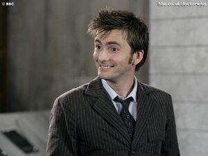 Doctor happy