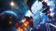 Space-battle-spaceship-astronaut-eart-planet-fantasy-1920x1080-wallpaper63528