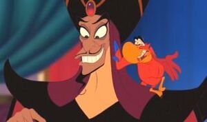 Jafar sheepish grin