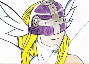 Angewomon happy