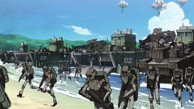 Code Geass Akito the Exiled Screenshot 0024