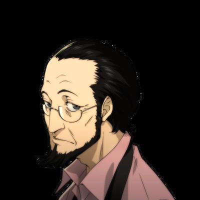 P5 Sojiro Sakura's portrait