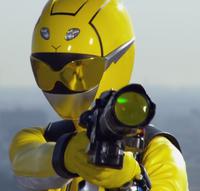Beast Morphers Yellow Ranger
