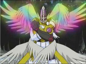 Magnaangemon shining wings